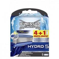Лезвия Wilkinson Sword (Schick) Hydro5 упаковка 5 штук
