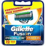Лезвия Gillette Fusion ProGlide Power упаковка 12 шт