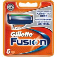 Лезвия Gillette Fusion упаковка 5 шт