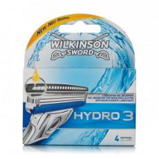 Лезвия Wilkinson Sword (Schick) Hydro3 упаковка 4 штуки