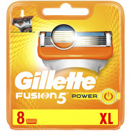 Лезвия Gillette Fusion5 Power упаковка 8 шт