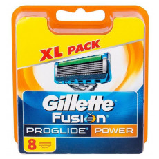 Лезвия Gillette Fusion ProGlide Power упаковка 8 шт