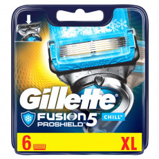 Лезвия Gillette Fusion5 Proshield Chill упаковка 6 шт
