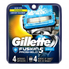 Лезвия Gillette Fusion Proshield Chill упаковка 4 шт США
