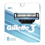 Лезвия Gillette Mach3 упаковка 8 штук США