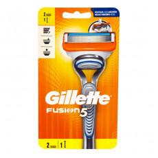 Станок Gillette Fusion5 (2 картриджа)