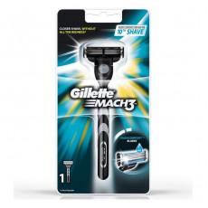 Станок Gillette Mach3 с 1 сменным картриджем