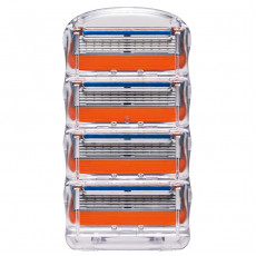 Лезвия Gillette Fusion 4 шт без упаковки