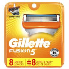 Лезвия Gillette Fusion5 США упаковка 8 шт
