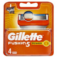 Лезвия Gillette Fusion Power упаковка 4 шт