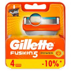 Лезвия Gillette Fusion5 Power упаковка 4 шт
