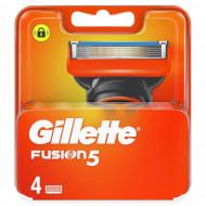 Лезвия Gillette Fusion5 упаковка 4 шт