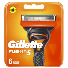 Лезвия Gillette Fusion5 упаковка 6 шт