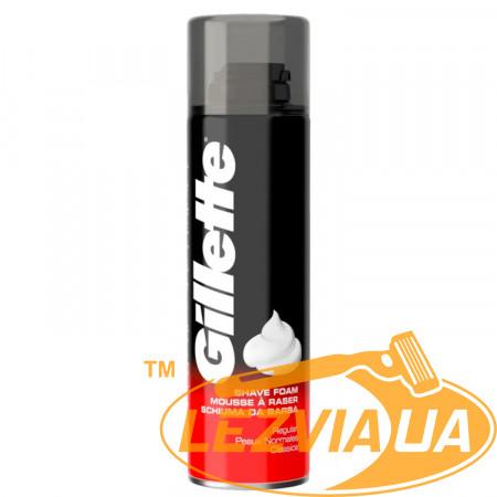 Пена для бритья Gillette Shave Foam Regular 200 мл