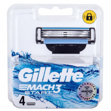 Лезвия Gillette Mach3 Start упаковка 4 шт