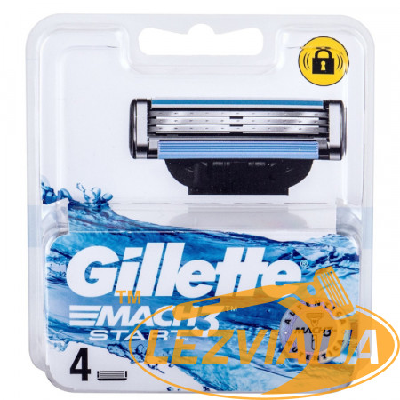 Лезвия Gillette Mach3 Start упаковка 4 шт