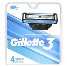 Лезвия Gillette Mach3 упаковка 4 шт США