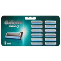 Лезвия Gillette Mach3 упаковка 12 шт