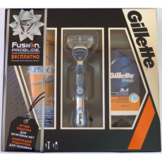 Набор Gillette Fusion Proglide Power станок + гель + бальзам