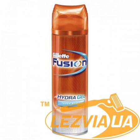 Гель для бритья Gillette Fusion для жесткой щетины 200 мл