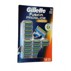 Лезвия Gillette Fusion ProGlide Power 14 картриджей на планшете
