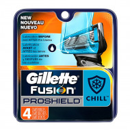 Лезвия Gillette Fusion Proshield Chill упаковка 4 шт