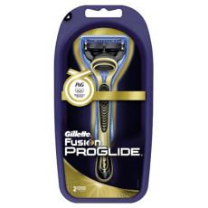Станок Gillette Fusion ProGlide Gold (2 картриджа)