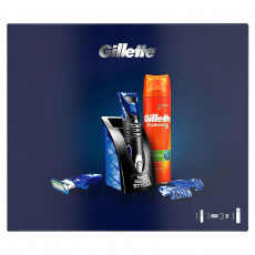 Набор Gillette Fusion ProGlide Styler + Гель для бритья Gillette Fusion 5 Ultra Sensitive