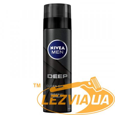 Гель для бритья Nivea Men DEEP Clean Shave 200 мл