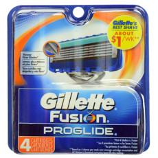 Лезвия Gillette Fusion ProGlide упаковка 4 шт США