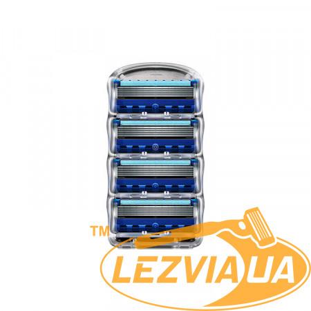 Лезвия Gillette Fusion ProGlide 4 шт без упаковки