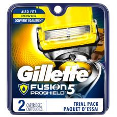 Лезвия Gillette Fusion Proshield упаковка 2 шт США