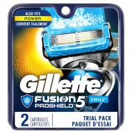 Лезвия Gillette Fusion Proshield Chill упаковка 2 шт США