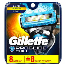 Лезвия Gillette Fusion Proshield Chill упаковка 8 шт США