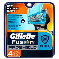 Лезвия Gillette Fusion Proshield Chill упаковка 4 шт США