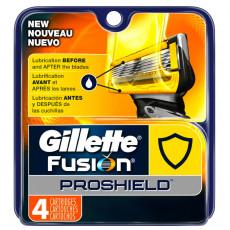 Лезвия Gillette Fusion ProShield упаковка 4 шт США