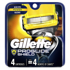 Лезвия Gillette Fusion Proshield упаковка 4 шт США