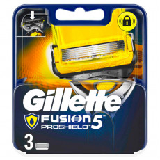 Лезвия Gillette Fusion5 Proshield упаковка 3 шт