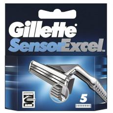 Лезвия Gillette Sensor Excel упаковка 5 шт