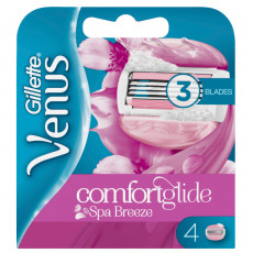 Лезвия Gillette Venus Spa Breeze ComfortGlide упаковка 4 шт