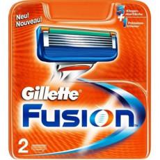 Лезвия Gillette Fusion упаковка 2 шт