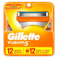 Лезвия Gillette Fusion Power упаковка 12 шт