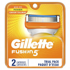 Лезвия Gillette Fusion Power США упаковка 2 шт