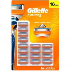 Лезвия Gillette Fusion США 16 шт (на планшете)